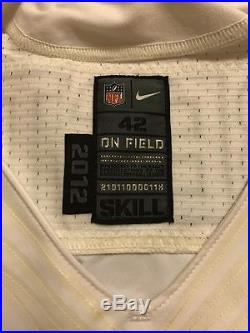 Jahvid Best Detroit Lions Nike Elite Authentic Game Worn Used Issued Jersey 42