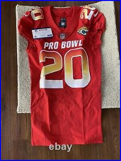 Jalen Ramsey Game Issued 2019 Pro Bowl Jersey, PSA Authenticated Rare #1 CB