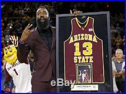 James Harden Arizona State Game Issued Jersey Houston Rockets NBA MVP Used Worn