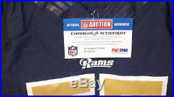 James Laurinaitis St Louis Rams NFL Game Issued Autographed Jersey