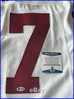 Jason Campbell Auto Washington Redskins 75th Throwback Game Issued Jersey COA