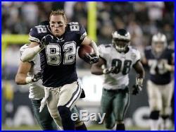Jason Witten Autographed Game Issued Reebok Dallas Cowboys Jersey 11-48 JSA Wit