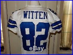 Jason Witten Game Issued Reebok Jersey Dallas Cowboys COA 09-48
