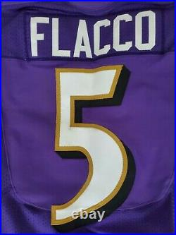 Joe Flacco 2013 Baltimore Ravens Game Worn Used Issued Jersey with Mears LOA NFL