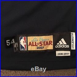 Joe Johnson Game Issued 2007 All Star Jersey Adidas 54