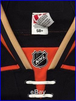 John Gibson Ducks Game Issued Team Jersey Edge 2.0 58G Goalie Cut NHL Jersey