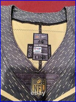 John Kuhn Team Issued Signed Packers Pro Bowl NFL Game Jersey PSA JSA Football