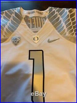 Josh Huff Oregon Ducks Team Issued Game Jersey Not Worn