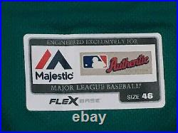 KETEL MARTE #4 size 46 2016 MARINERS game jersey issued home teal without use