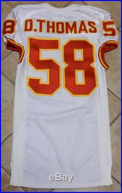 Kansas City Chiefs 1997 Game Issue Jersey Derrick Thomas Unused Unworn Size 44