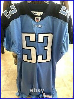 Keith Bulluck Tennessee Titans 2006 authentic Reebok team issued game jersey NEW