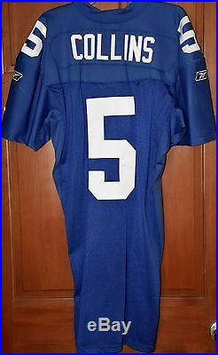 Kerry Collins NY Giants Home Jersey Game Issued Jersey MeiGray COA