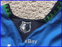 Kevin Love pro cut game issued or used worn jersey Timberwolves