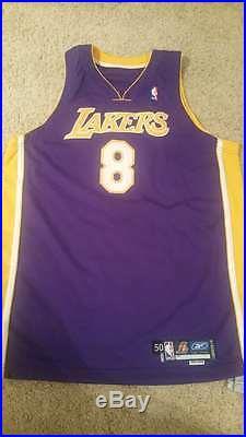 Kobe Bryant 2004-05 REEBOK Game Issued Jersey MEARS 50+4