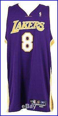 Kobe Bryant 2004-05 REEBOK Game Team Issue Pro Cut AWAY jersey SZ50+4 MEARS LOA
