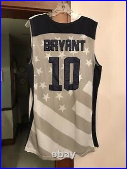 Kobe Bryant 2012 Olympic Team USA Issue Game Cut Nike Jersey Size L