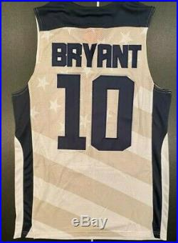 Kobe Bryant 2012 Olympics Team USA Issue Game Cut Nike Jersey Size M NEW