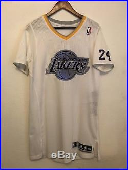 Kobe Bryant Authentic Adidas Lakers Game Issued Pro Cut Game Worn Jersey 2XL +2