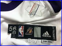 Kobe Bryant Authentic Adidas Lakers Xmas Game Issued Pro Cut not Worn Jersey