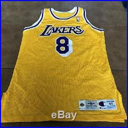 Kobe Bryant Game Used Worn 1996-97 Home Lakers Signed Team Issued Jersey