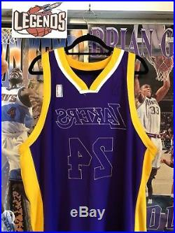 Kobe Bryant Lakers 2009 NBA Finals Game Team Issued Adidas NBA Jersey READ DESC