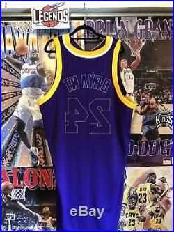 Kobe Bryant Lakers 2009 NBA Finals Game Worn Used Team Issued Adidas NBA Jersey