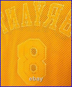 Kobe Bryant Los Angeles Lakers 1998/99 Issued Nike Game Jersey 50+4