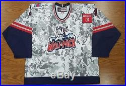 Kodie Curran Game-Issued 2015-16 Military Jersey withCOA