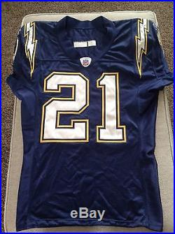 LaDainian Tomlinson Game Used Issued 2005 Home Navy Jersey San Diego  Chargers ed2c40f12