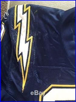 LaDainian Tomlinson Game Used Issued 2005 Home Navy Jersey San Diego Chargers