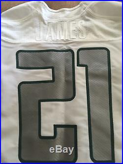LaMichael James Oregon Ducks Team Issued Game Jersey Signed Inscribed