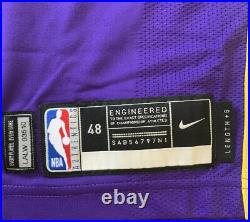 Lakers Kostas Antetokounmpo Team Issued Pro Jersey Game Worn Kobe Bryant Patch