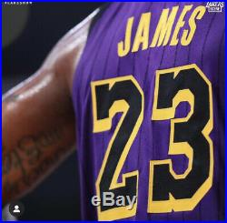 Lakers Lebron James Team Issued Authentic Pro Cut Jersey Game Worn Lore Series