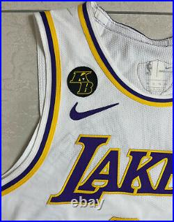 Lakers Markieff Morris #88 Pro Cut Player Jersey Game Worn NBA Finals Issued