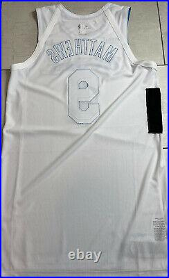 Lakers Wesley MatthewsSize 48 Team Issued Game Pro Cut Jersey Lore Series 2021