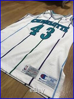 LeRon Ellis Charlotte Hornets Game Used/ Issued NBA Jersey