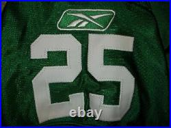 LeSean McCoy Game Used Team Issued Philadelphia Eagles Kelly Green 2010 L Jersey