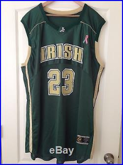 size 40 f2911 e6552 Lebron James 2003 St Vincent St Mary Game Issued High School ...