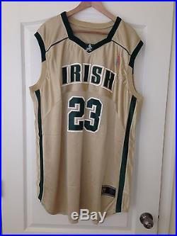 1ee6e2cff1c Lebron James 2003 St Vincent St Mary Game Issued High School Jersey HOME  GOLD