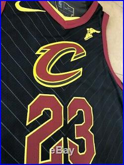Lebron James Cleveland Cavaliers 2018 Game Worn Issued Finals Uniform Lakers