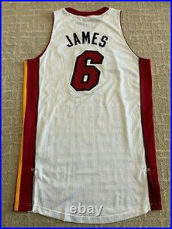 Lebron James Miami Heat Game Issued/Game Worn Jersey! Shows Game Use