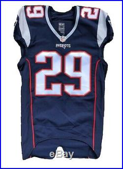 Legarrette Blount New England Patriots Game Issued Jersey 2015 RARE