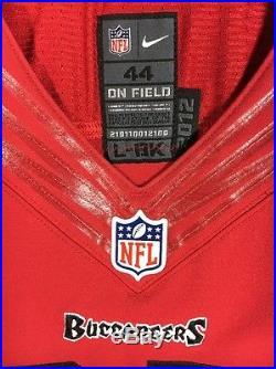 Legarrette Blount Patriots Tampa Bay Buccaneers 2012 Game Issued Nike Jersey 42