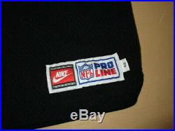 Levon Kirkland Pittsburgh Steelers Team Issue Nike Proline Game Jersey Unworn 48