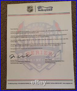 Los Angeles Kings Tyler Toffoli 14' Coors Light Stadium Game Used Issued Jersey