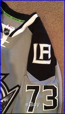 Los Angeles Kings Tyler Toffoli 2014 Coors Light NHL Stadium Game Issued Jersey