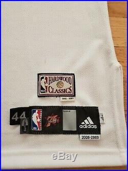 Lou Williams Game Issued Philadelphia 76ers Hardwood Classics Jersey