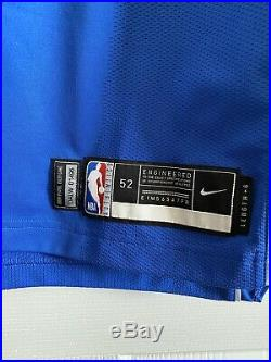 Luka Doncic NBA Dallas Mavericks Game Issued Worn Signed Autographed Jersey MVP