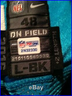 Luke Keuchley Game Issued Auto Jersey NFL PSA/DNA