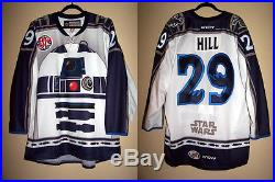 Manitoba Moose Star Wars Night Game Issued Not Worn Jersey Jordan Hill 29